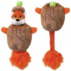 Kong Puzzlements Hiderz Fox žaislas šunims