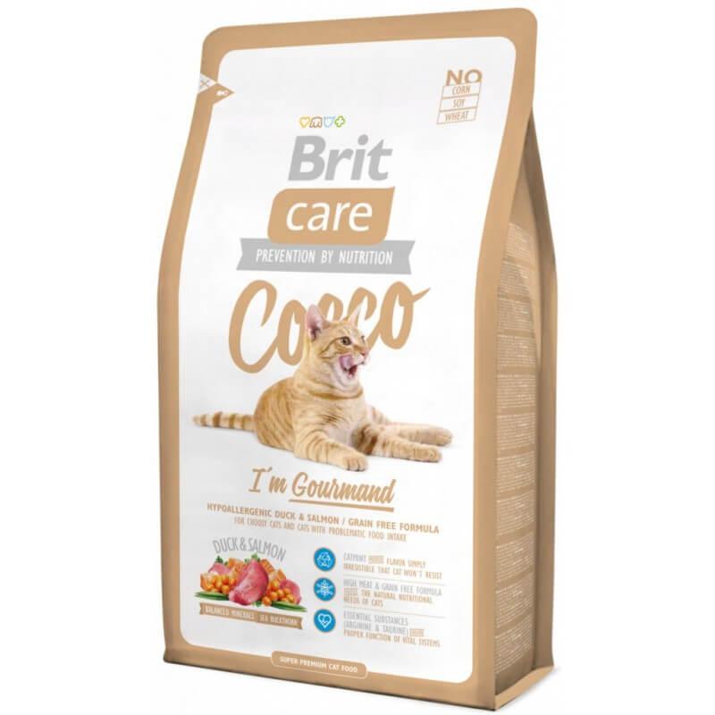 Brit Care Cat Cocco I'm Gourmand sausas maistas katėms