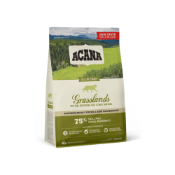 Acana Grasslands Cat sausas maistas be grūdų katėms