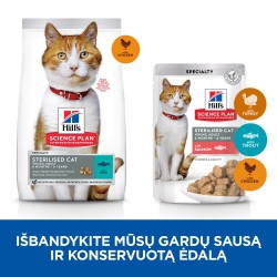 Hill's Science Plan Feline Sterilised Young Adult Cat Chicken