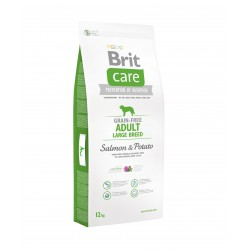 Brit Care Grain-free Adult Large Breed Salmon & Potato sausas