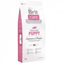 Brit Care Grain-free Puppy Salmon & Potato sausas maistas #3