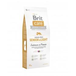 Brit Care Grain-free Senior Salmon & Potato sausas maistas