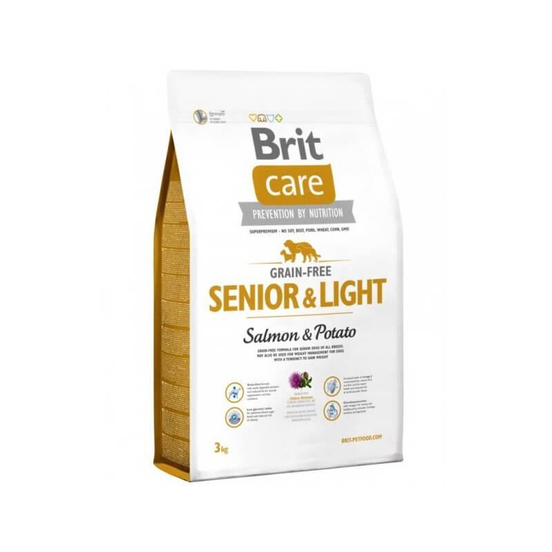 Brit Care Grain-free Senior Salmon & Potato sausas maistas #2