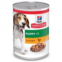 Hill's Science Plan Canine Puppy Savoury Chicken konservai