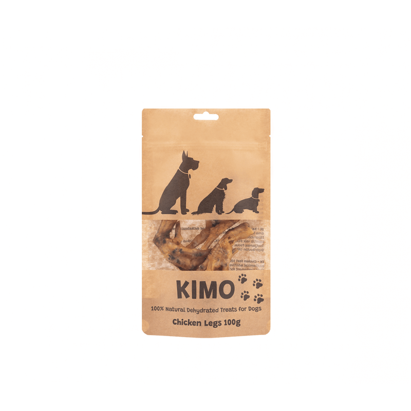 Kimo skanėstas džiovintos vištų kojos šunims