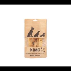 Kimo skanėstas džiovintos triušių ausys šunims