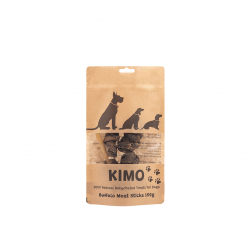 Kimo skanėstai džiovintos buivolų mėsos lazdelės šunims