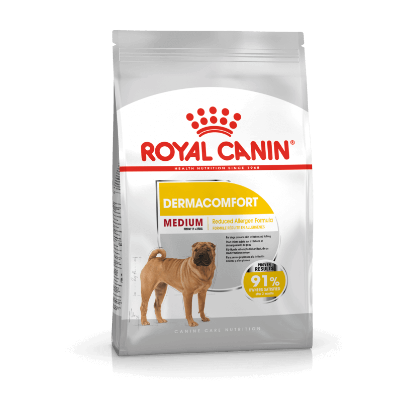 Royal Canin Medium Dermacomfort sausas maistas šunims