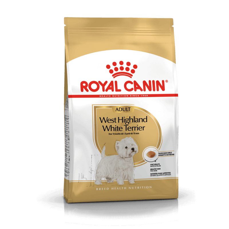 Royal Canin West Highland White Terrier Adult sausas maistas