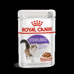 Royal Canin Sterilised in Gravy konservai katėms