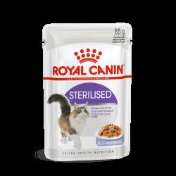 Royal Canin Sterilised in Jelly konservai katėms