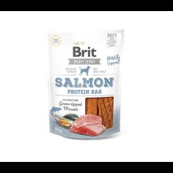 Brit Jerky Salmon Protein Bar skanėstas šunims