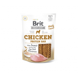 Brit Jerky Chicken Protein Bar skanėstas šunims