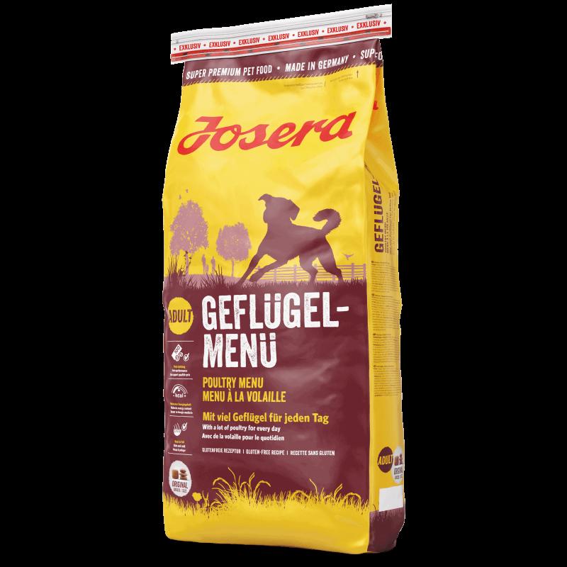 Josera Poultry-Menu sausas maistas šunims