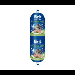 Brit Premium dešra su vištiena ir antiena katėms