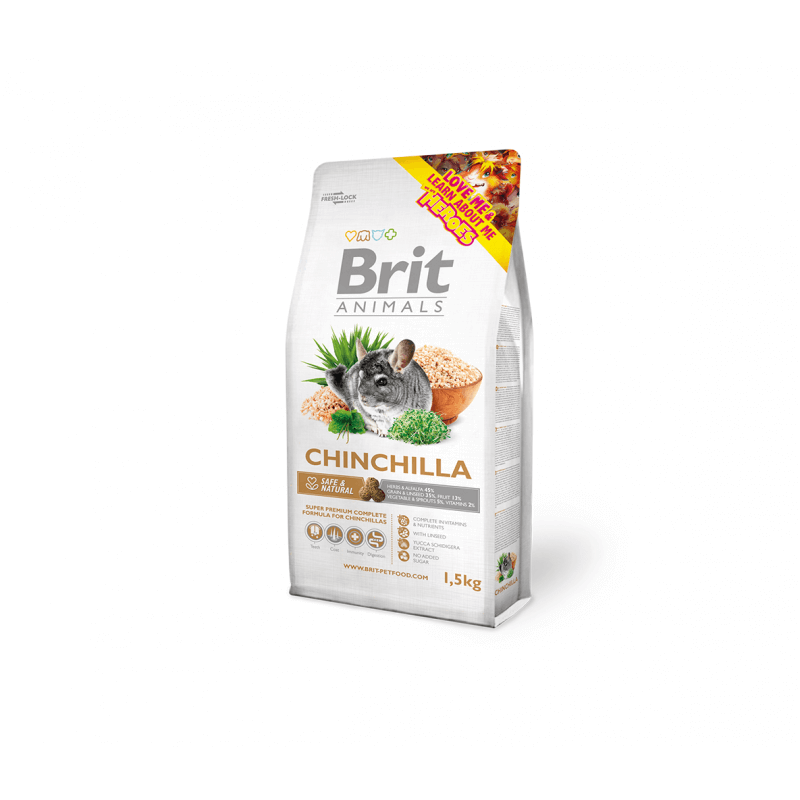 Brit Animals maistas šinšiloms