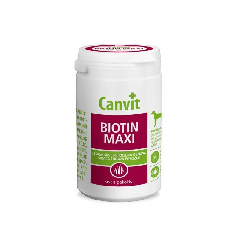 Canvit Biotin Maxi vitaminai šunims