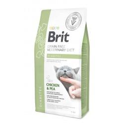Brit Veterinary Diets Diabetes sausas maistas katėms