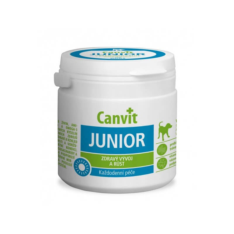 Canvit Junior vitaminai šunims