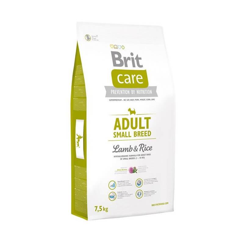 Brit Care Adult Small Breed Lamb & Rice sausas maistas šunims