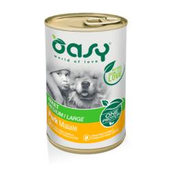 Oasy Adult Pork vieno baltymo konservai su kiauliena suaugusiems šunims