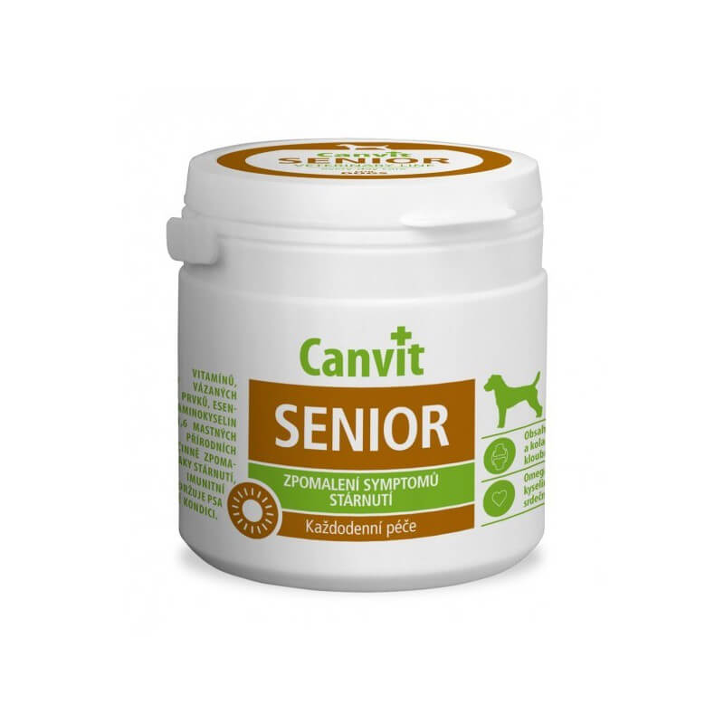 Canvit Senior vitaminai šunims