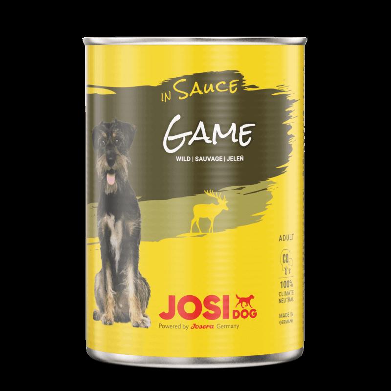 Josera JosiDog Game in Sauce konservai su žvėriena šunims