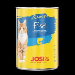 Josera JosiCat Fish in Sauce konservai su žuvimi katėms