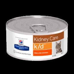 Hill's PD Feline k/d Minced Chicken konservai katėms