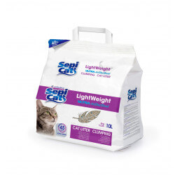 Sepicat LightWeight Ultra Antibacterial sušokantis kraikas katėms