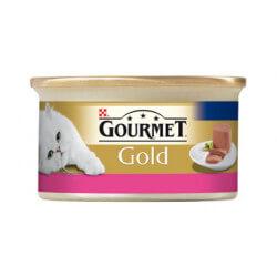 Gourmet Gold paštetas su jautiena katėms