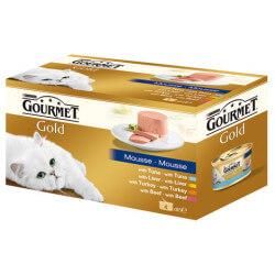 Gourmet Gold paštetų rinkinys katėms