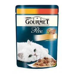 Gourmet Perle konservai su vištiena katėms