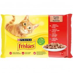 Friskies mėsos konservai su padažu katėms
