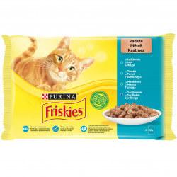 Friskies žuvies konservai su padažu katėms