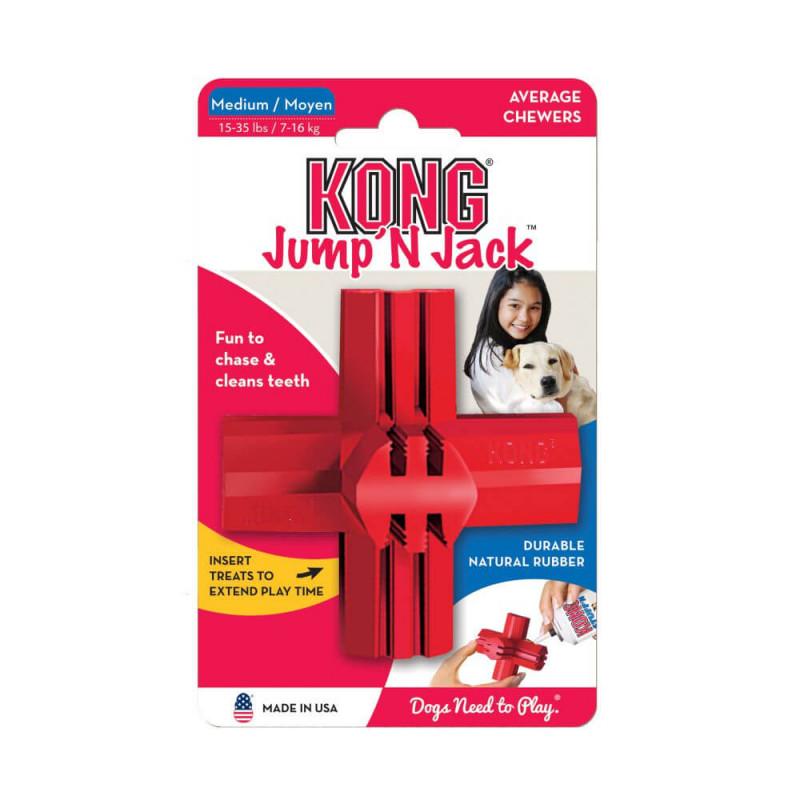 Kong Jump'n'Jack žaislas šunims