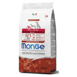 Monge Mini Adult Lamb sausas maistas mažų veislių šunims