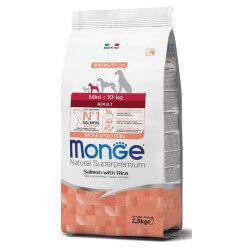 Monge Mini Adult Salmon sausas maistas mažų veislių šunims