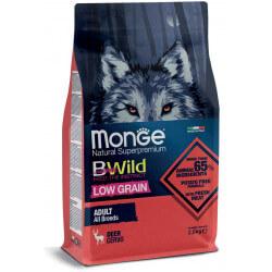 Monge BWild All Breeds Adult Deer sausas maistas šunims