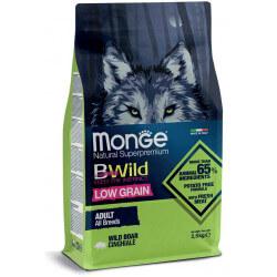 Monge BWild All Breeds Adult Wild Boar sausas maistas šunims