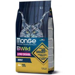 Monge BWild Adult Cat Hare sausas maistas katėms