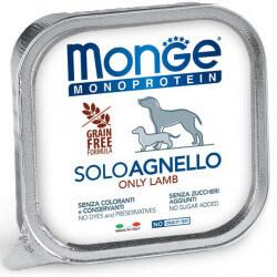 Monge Monoprotein konservai su ėriena šunims 150g