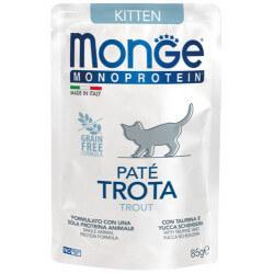 Monge Monoprotein Kitten paštetas su upėtakiu kačiukams