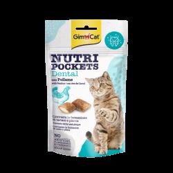 GimCat Nutri Pockets Dental skanėstai katėms