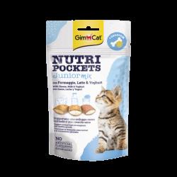 GimCat Nutri Pockets Junior Mix skanėstai kačiukams