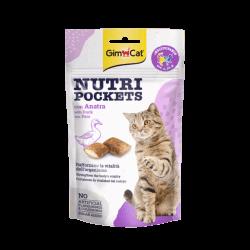 GimCat Nutri Pockets with Duck skanėstai katėms