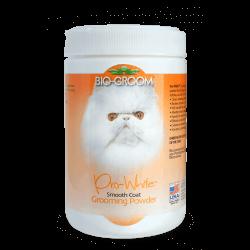 Bio Groom Pro White Smooth pudra švelniam kailiui šunims ir katėms