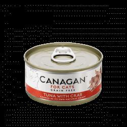 Canagan konservai su tunu ir krabais katėms