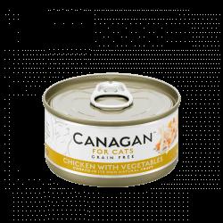 Canagan konservai su vištiena ir daržovėmis katėms